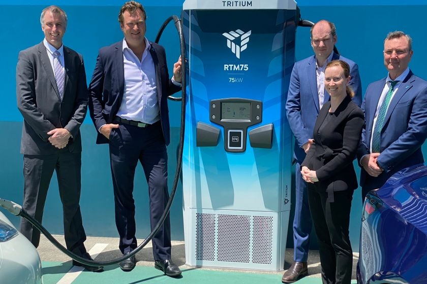 As part of the launch, the company also revealed the first charger built on the platform with...