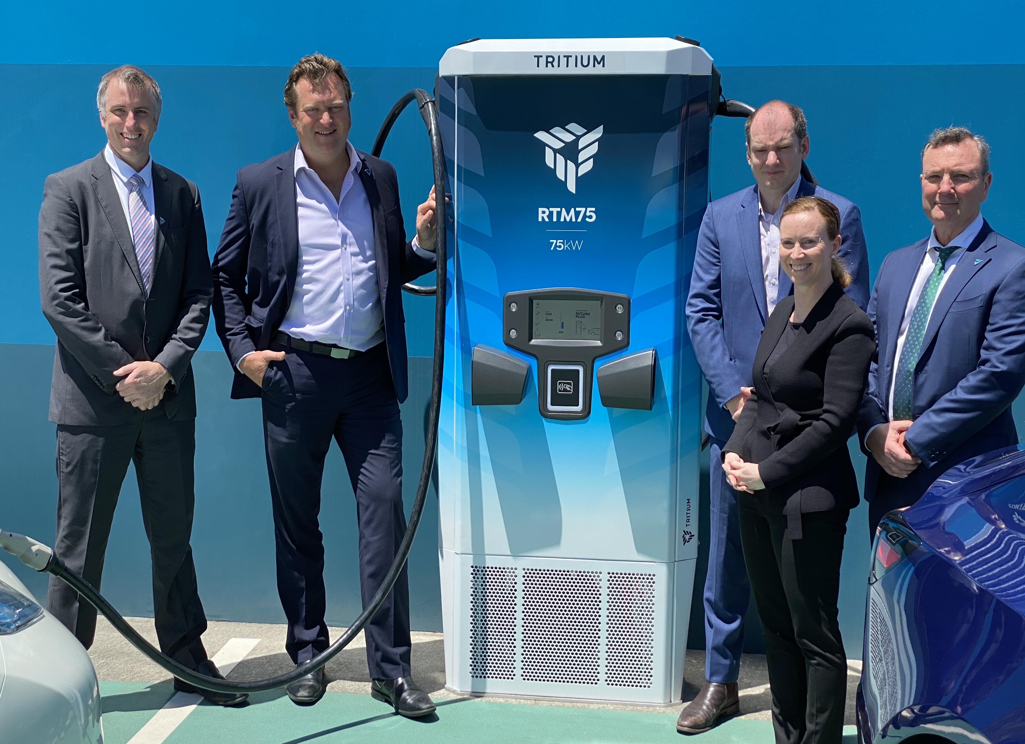 Tritium Unveils Scalable Electric Vehicle Charging Platform