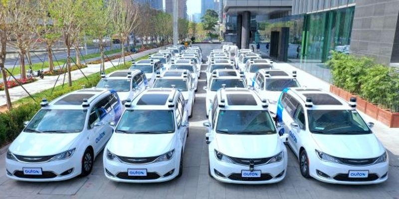 AutoX has been conducting driverless tests in Shenzen, China, for the past half a year with 25...