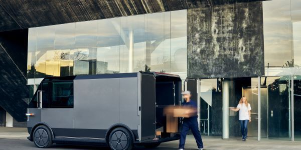The vehicle offers a low step in height of 17 inches along with storage lockers, a roll-up style...