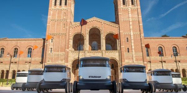Starship Technologies recently deployed its autonomous delivery robots on the UCLA campus in Los...