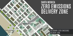 Santa Monica Launches Zero-Emissions Delivery Zone, First in U.S.