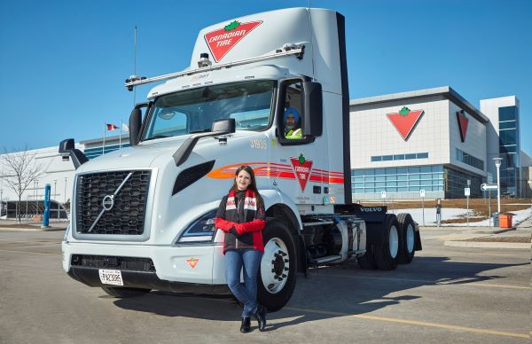 Jennifer Reardon is associate VP, transportation integration and ops support at Canadian Tire. - Photo courtesy of NuPort Robotics Inc.