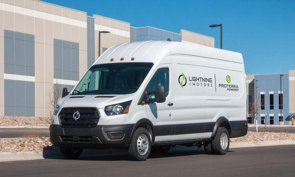 Proterra Battery Tech to Power Lightning eMotors' Electric Transit