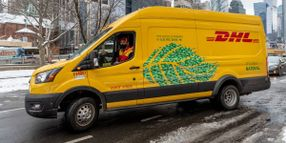 DHL Express to Deploy 89 Electric Delivery Vans in NY and California