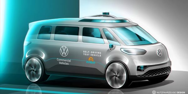 Volkswagen Commercial Vehicles will conduct autonomous driving field trials in Germany this year...