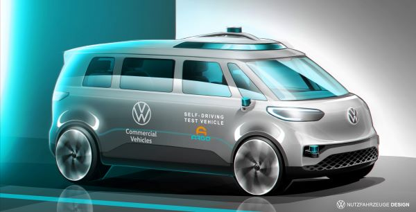 ID. BUZZ to Be VW's First Autonomous Vehicle