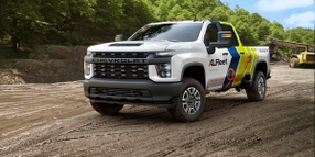 XL Fleet Introduces Silverado HD Plug-In Hybrid Drive System