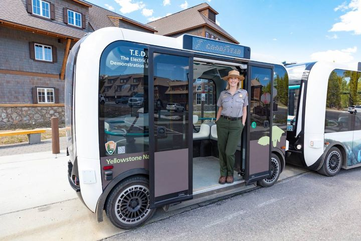 The T.E.D.D.Y. project, an ode to Teddy Roosevelt, will enable the National Park Service to test the feasibility and sustainability of autonomous mobility and better plan for the future of transportation. - Photo:Yellowstone National Park