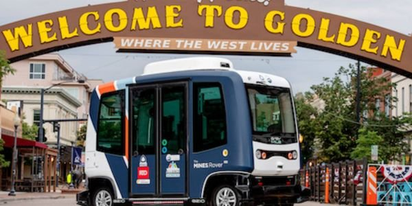 The first phase of the program includes a fleet of nine driverless, zero-emission EZ10 shuttles...