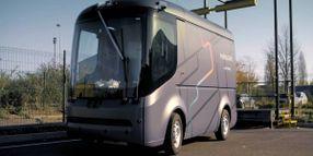 Delivery Van Completes Driverless Demo at Parcel Depot