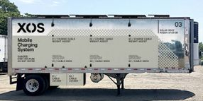 Xos Unveils Mobile Charging Station for Fleets