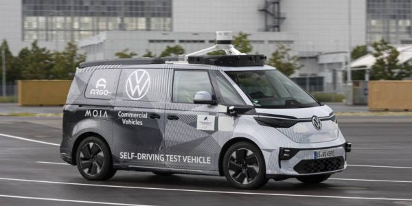 The ID. BUZZ vehicles are set for commercial services in the city of Hamburg in 2025, where...