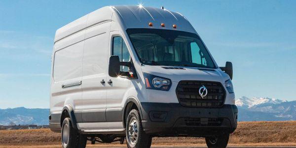 The Lightning eMotors Electric Transit Cargo Van includesLightning Analytics for insight into...