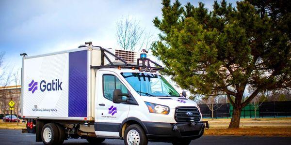 Gatik will lease a fleet of medium-duty, multi-temperature box trucks from Ryder.