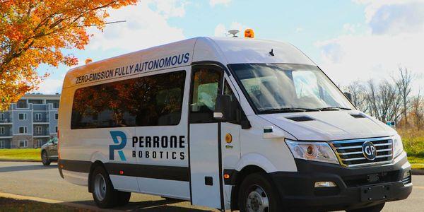 TONYisPerrone Robotics'vehicle independent retrofit kit for use in the autonomous transit of...