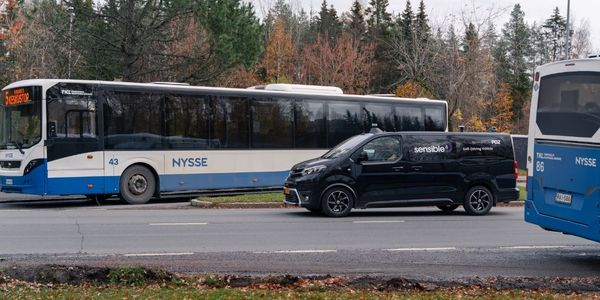 Two autonomous Toyota Proace mini-buses, automated by Finnish self-driving technology company...