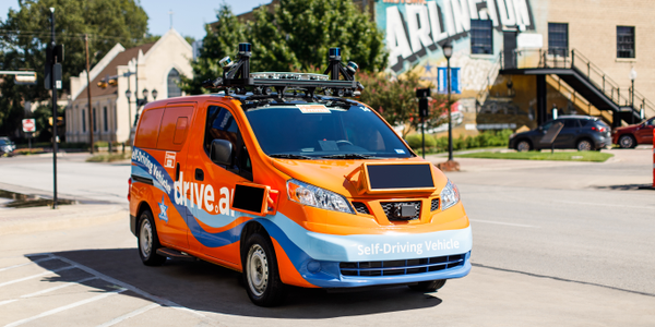 Autonomous vehicle startup Drive.ai had started its pilot project in Arlington, Texas, in...