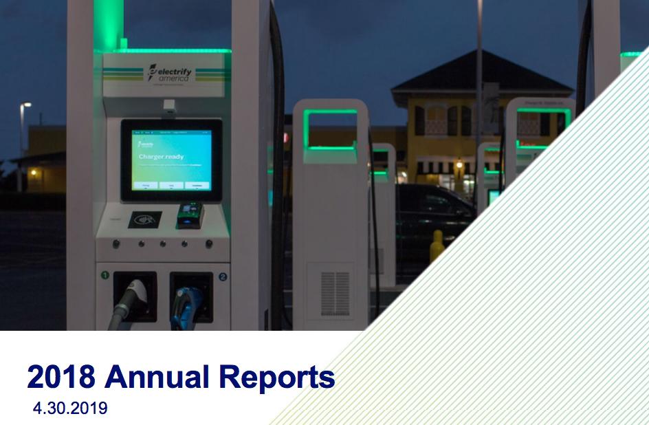 Electrify America Annual Report Details 2018 Milestones