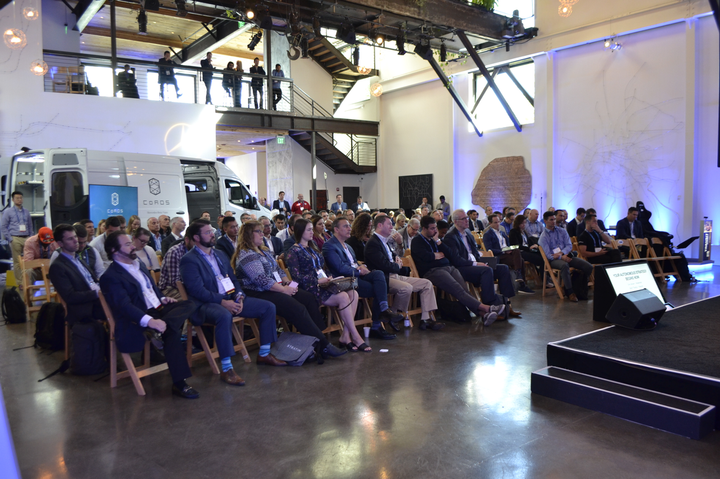 The 2018 Fleet Forward Conference, held in San Francisco, drew attendees from as far away as Brazil and the U.K., as well asmany tech entrepreneurs from Silicon Valley. The 2019 conference convenes in San Jose Nov. 11-13. -