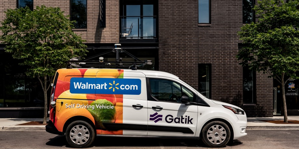 Walmart Partners with Gatik for Self-Driving Delivery Service Pilot Project