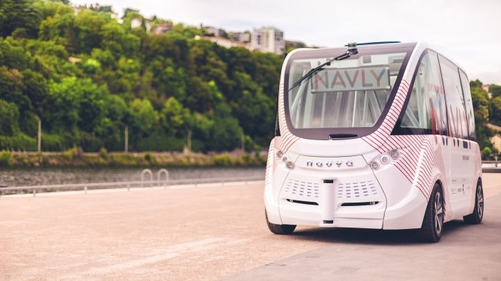 Navya has suspended pilot testing of its driverless shuttles during investigation in Vienna, Austria.  - Photo via Navya.
