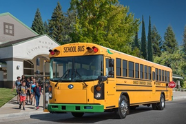 Federal Bill Aims to Support School Bus Fleet Electrification