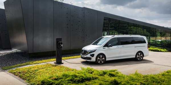 The Concept EQV is making its official debut at this year's IAA Commercial Vehicles trade event...
