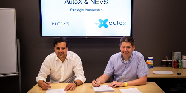 NEVS and AutoX will collaborate on creating robotaxis for European markets.