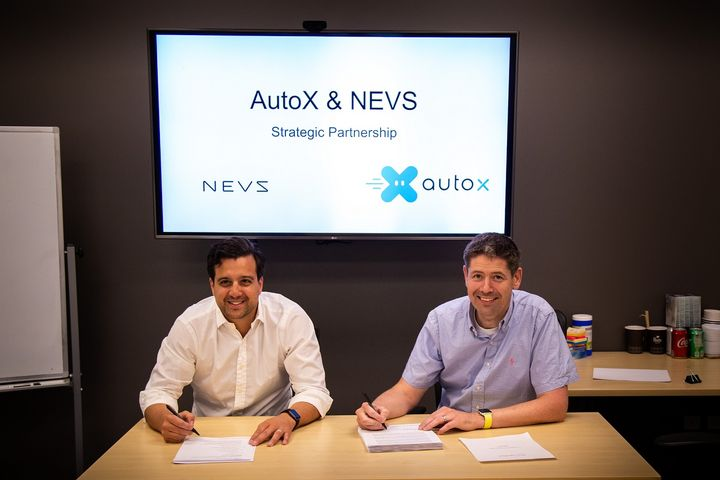 NEVS and AutoX will collaborate on creating robotaxis for European markets.   - Photo courtesy of NEVS.