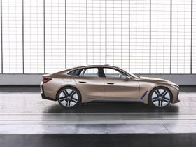 BMW Unveils Concept i4 All-Electric Vehicle