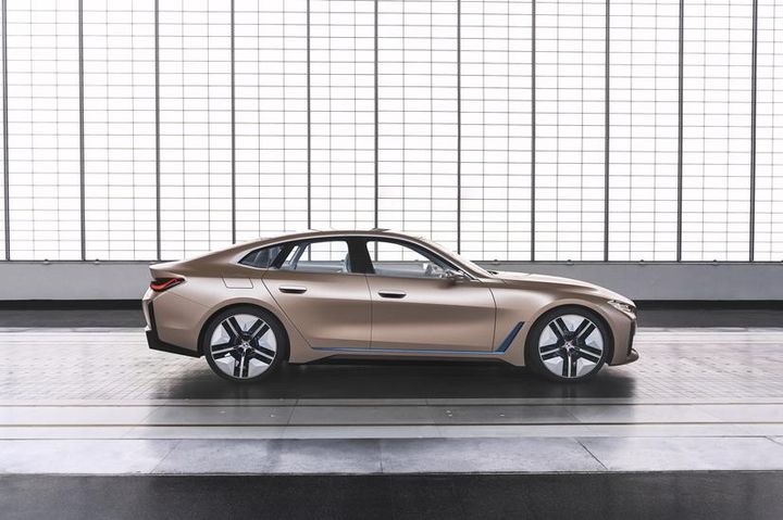 The production of the new i4 is planned to begin in 2021 at BMW Group's plant in Munich.  - Photo via BMW.