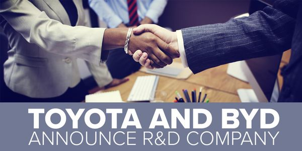 BYD and Toyota plan to staff the new company by transferring engineers and the jobs currently...