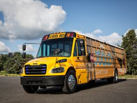 Daimler Subsidiary Delivers 50 Electric School Buses in Virginia