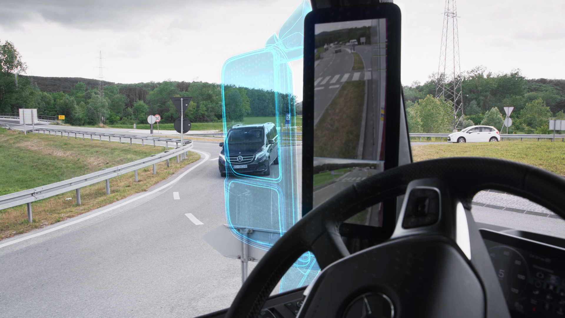 Mercedes-Benz Trucks Ditches Rearview Mirrors