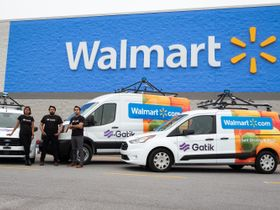 AV B2B Delivery Startup Partners with Walmart