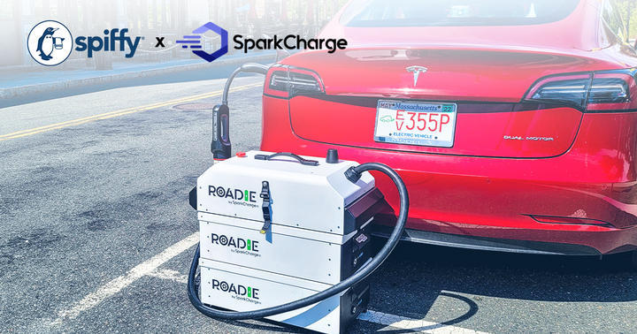 Spiffy on-demand charging is now piloting in the Raleigh andCharlotte, N.C., and Atlanta metro areas. - Photo courtesy of GetSpiffy.