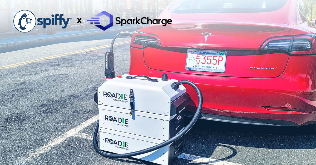 Get Spiffy, SparkCharge Deliver On-Demand EV Charging