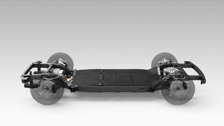 Canoo, a Los Angeles based company creating EVs for subscription only, offers a skateboard platform which houses the most critical components of the vehicle with a strong emphasis on functional integration, meaning all components fulfill as many functions as possible. - Photo via Hyundai.