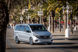 Mercedes-Benz Concept EV Completes First Fully Electric Trip