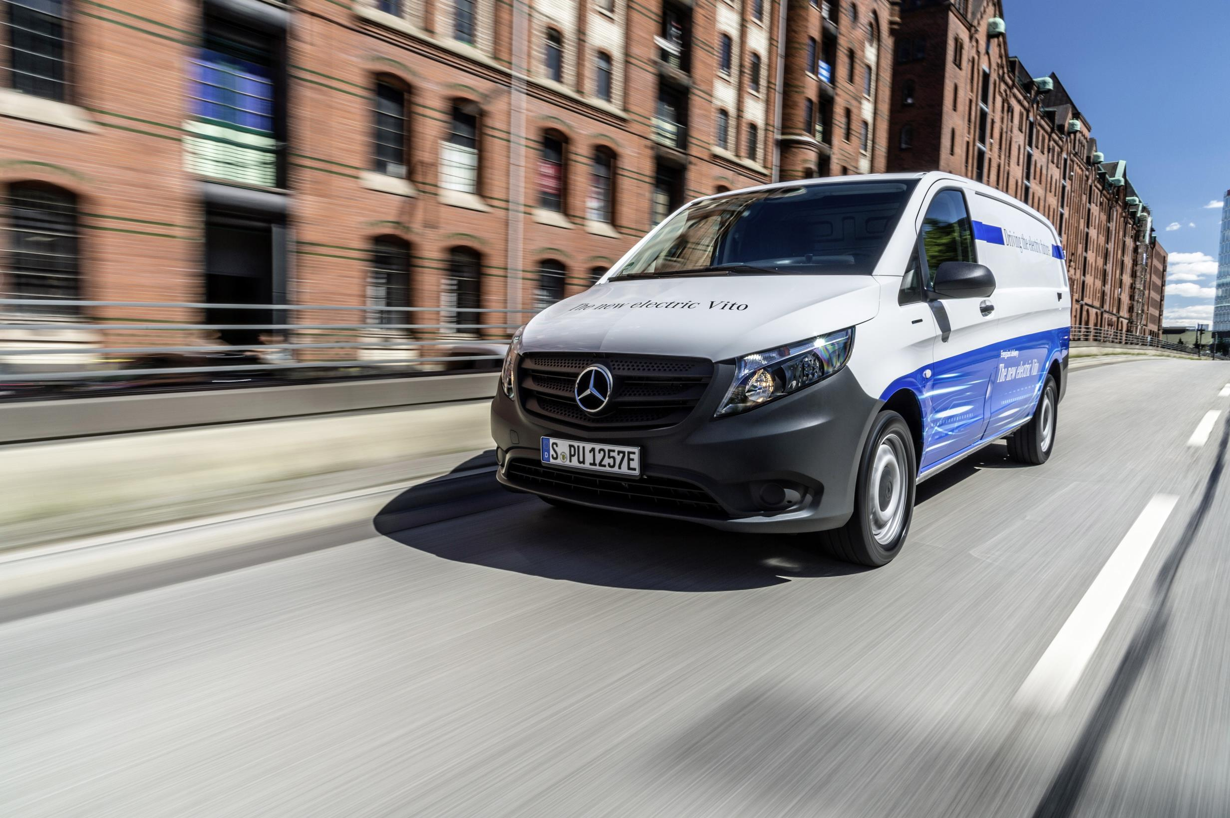 Mercedes eVito All-Electric Van to Start at $52k in UK