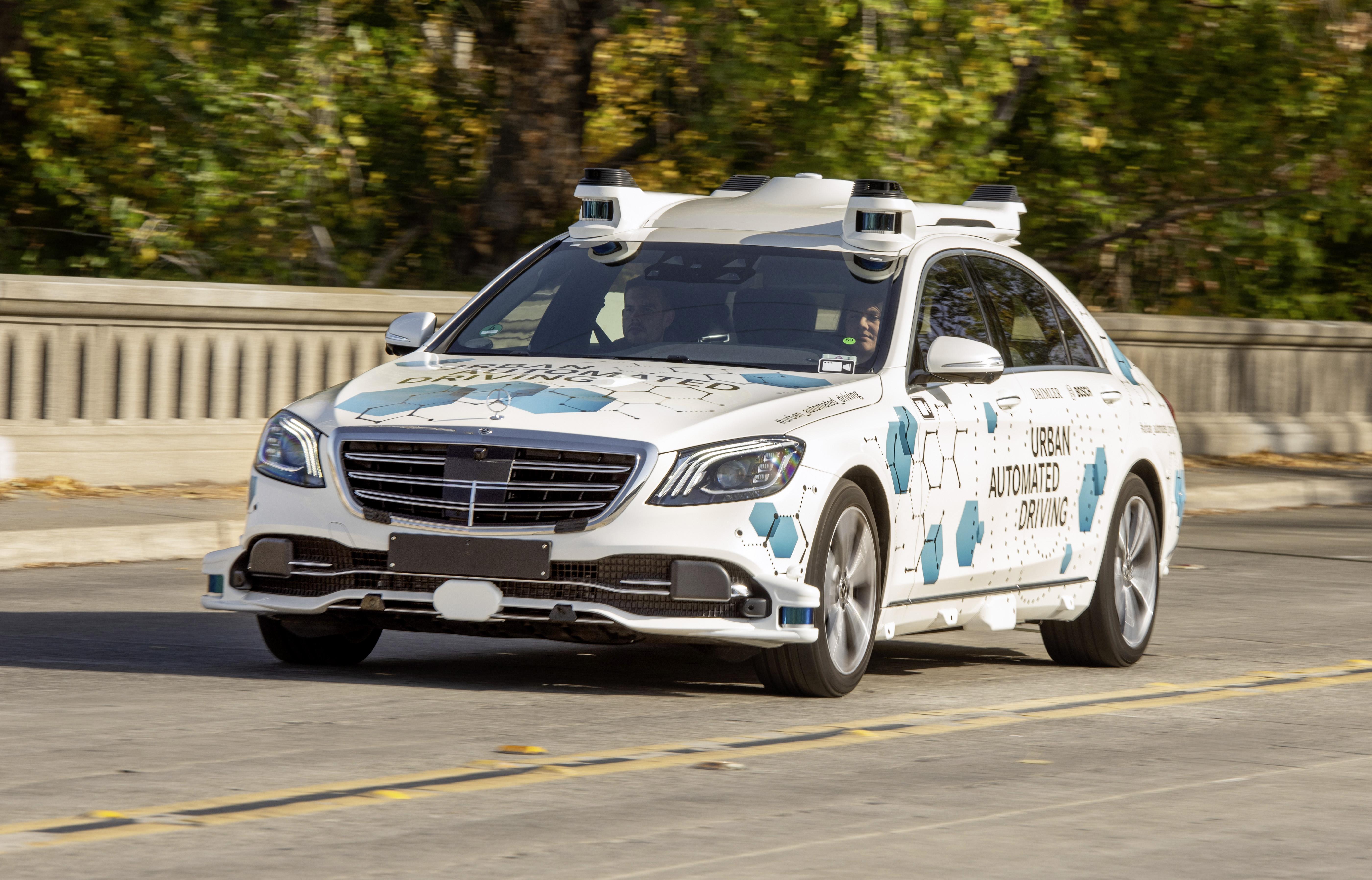 Bosch, Mercedes Launch Driverless Ride-Hailing Service