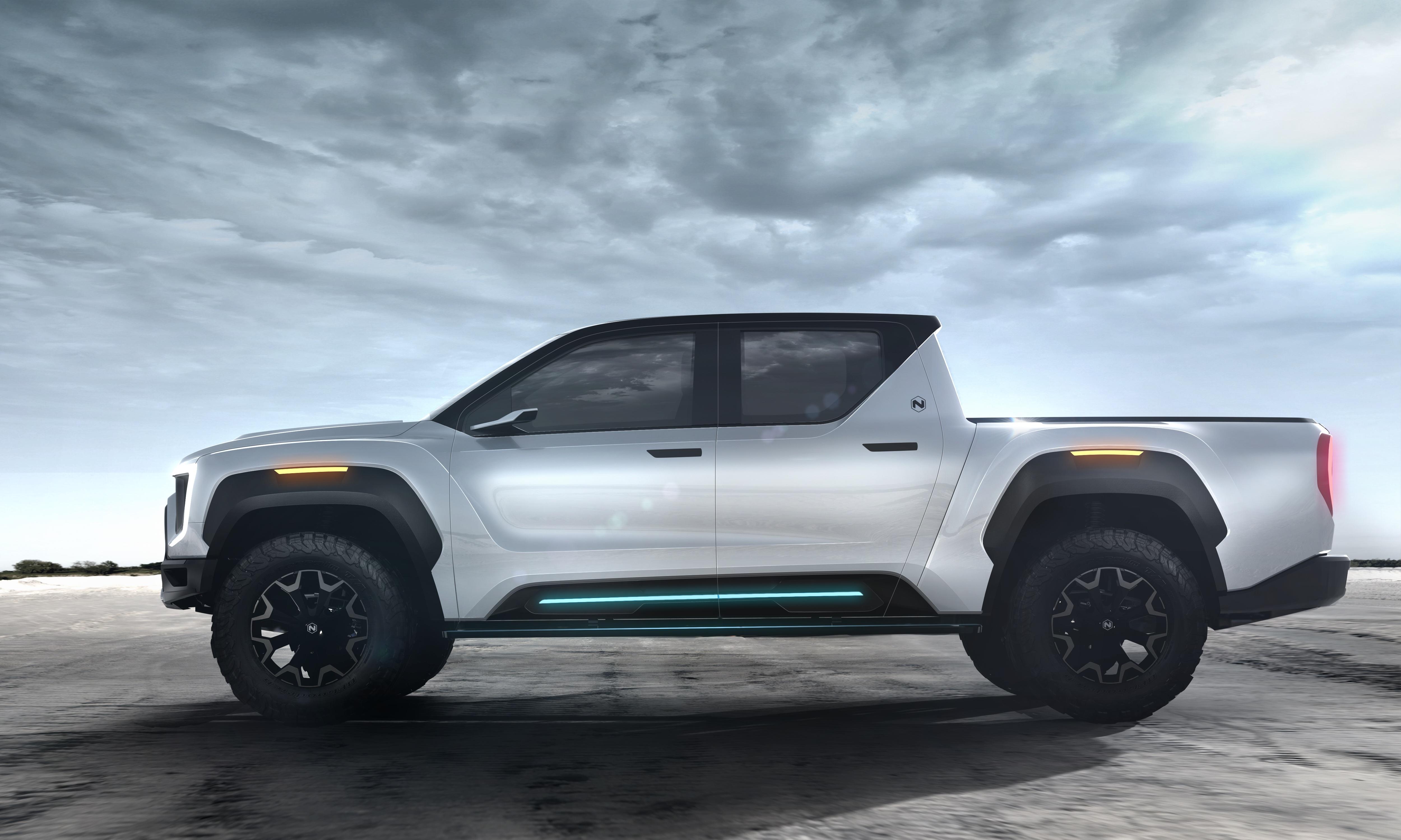 Nikola Unveils Zero-Emission Pickup Truck