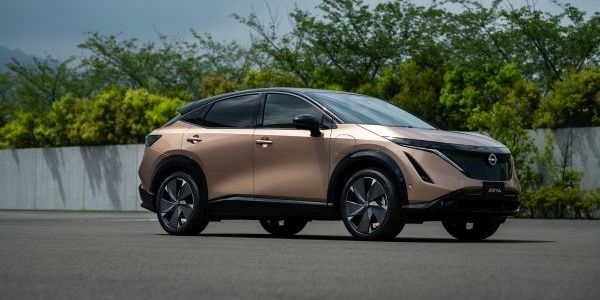Nissan debuted the two-row, five-passenger Ariya during a livestreamed event at the new Nissan...