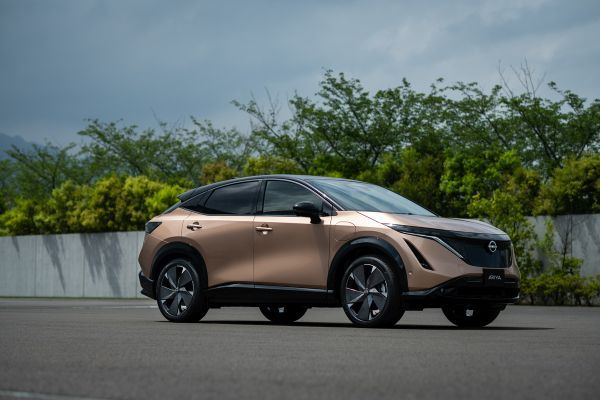Nissan debuted the two-row, five-passenger Ariya during a livestreamed event at the new Nissan Pavilion in Yokohama, Japan. - Photo courtesy of Nissan.