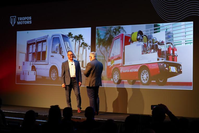 Panasonic, Tropos Release Compact Utility Trucks