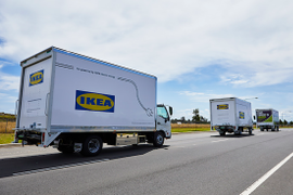Australia's All Purpose Transport Launches All-Electric Delivery Truck for Ikea
