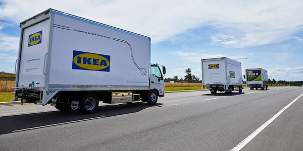 All Purpose Transport is aiming for 10% of its Ikea delivery fleet to be all-electric by the end...