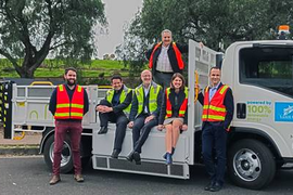 SEA Electric Releases 100% Electric Tipper Truck