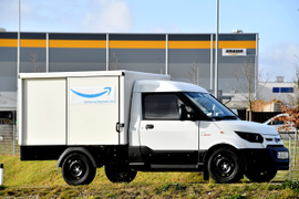 Amazon Orders Electric Vans for Munich Distribution Center